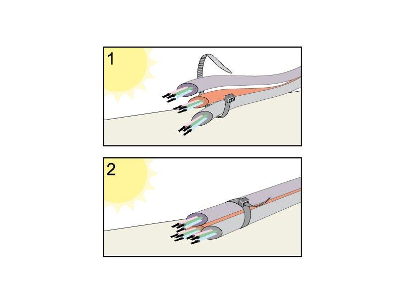 Vezica PVC za kablove
