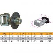 Šarka za metal štelujuća M16, M20, M24