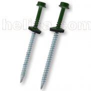 Šrafovi  za DRVO zelena  RAL-6005