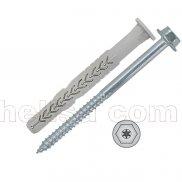 X3 dugački nylon tipl sa šrafom/OK glava TORX-prihvat